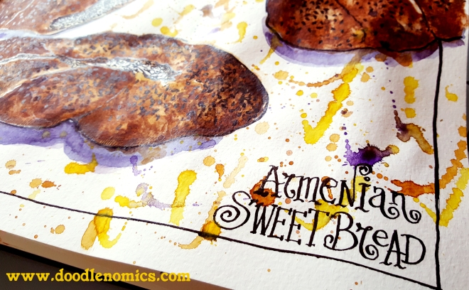 Armenian Sweet Bread 1