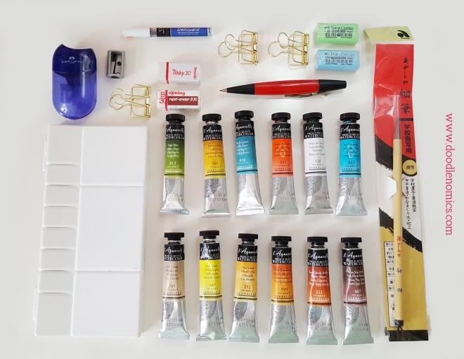 art supplies-art haul 1