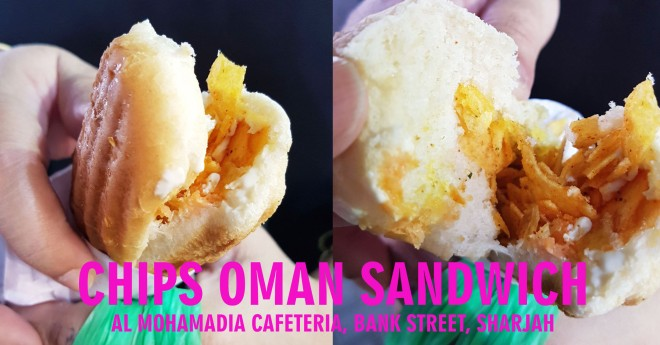 CHIPS OMAN SANDWICH